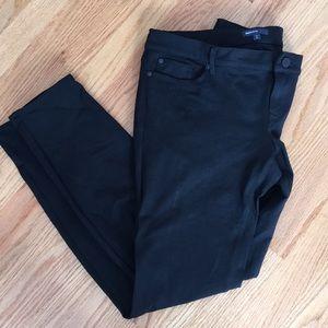 Gap maternity black stretch slim fit pants